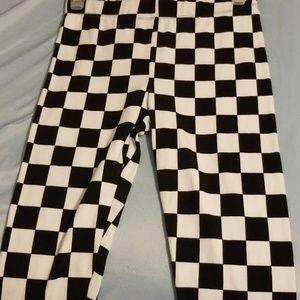 Forever 21 Checkered Leggings